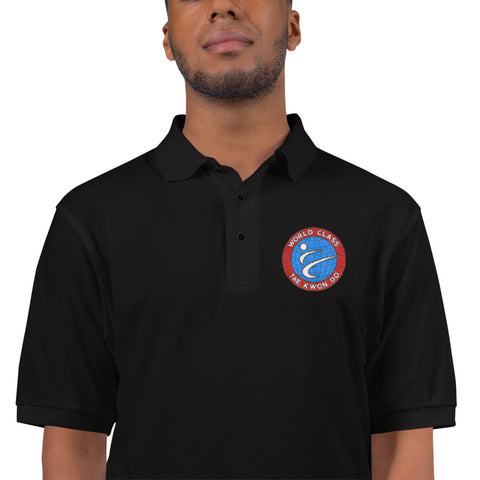 Men's Premium Polo w/ Embroidered Logo
