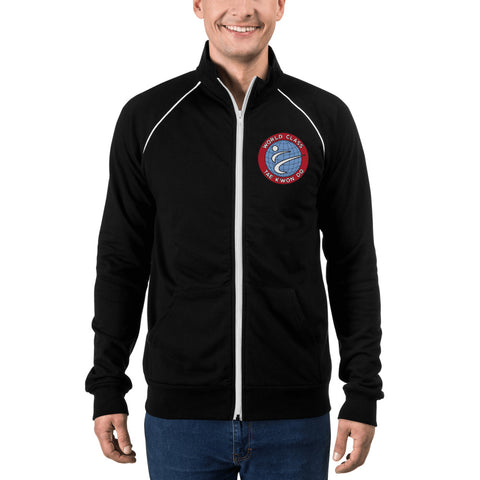 Logo Fleece Jacket w/ Back Print