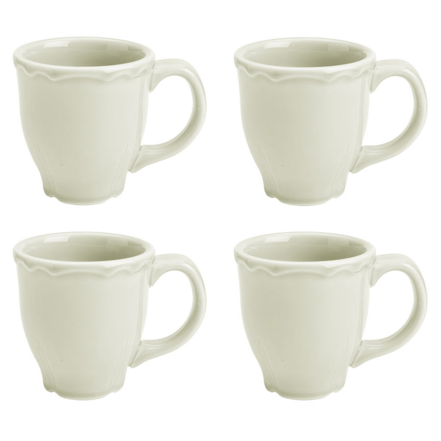 Set of 4 Terrace Mugs Natural - USA Dinnerware Direct, Set of 4 proudly made in the USA. Deep discounts of up to 70% off all Fiesta, tabletop and kitchen ware.