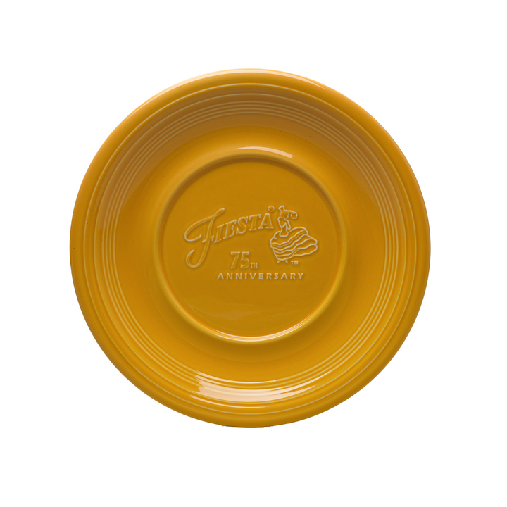 Fiesta 75th Anniversary Plate - USA Dinnerware Direct, Plate proudly made in the USA by the Fiesta Tableware Company
