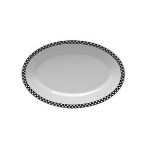 Checkers Platter - USA Dinnerware Direct, Platter proudly made in the USA. Deep discounts of up to 70% off all Fiesta, tabletop and kitchen ware.