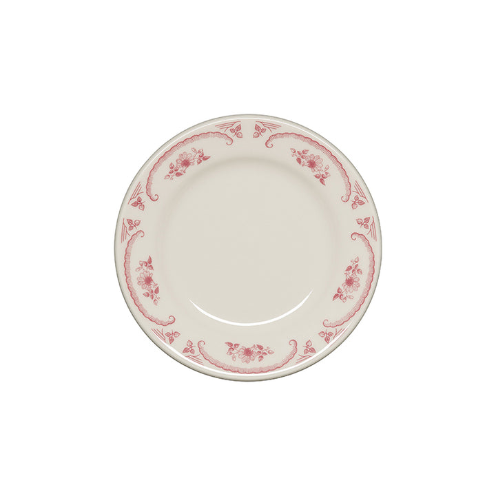 American Rose Salad Plate - USA Dinnerware Direct, Plate proudly made in the USA by the Fiesta Tableware Company