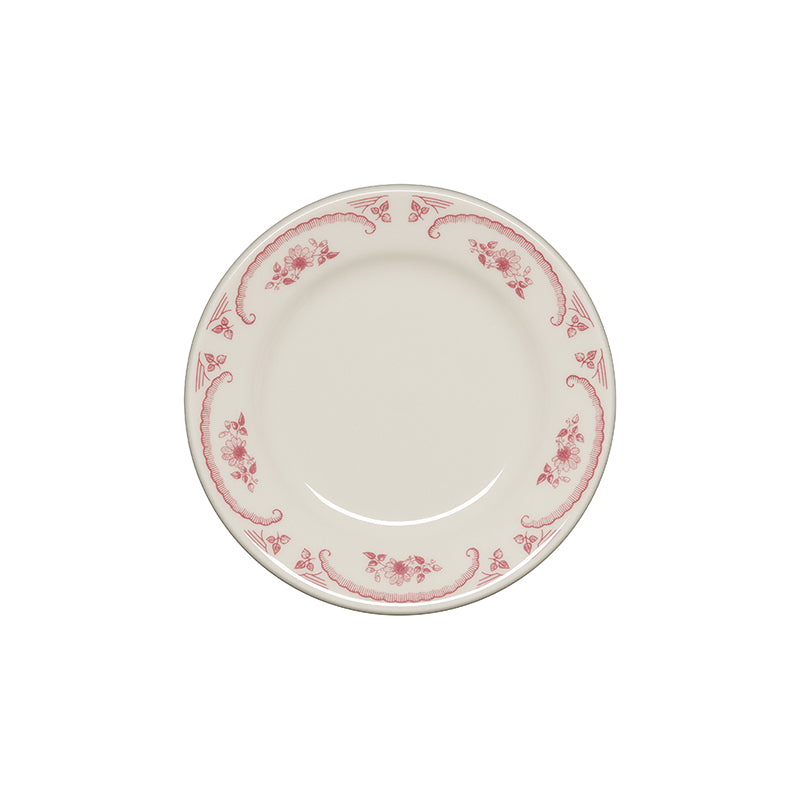 American Rose Salad Plate - USA Dinnerware Direct, Plate proudly made in the USA. Deep discounts of up to 70% off all Fiesta, tabletop and kitchen ware.