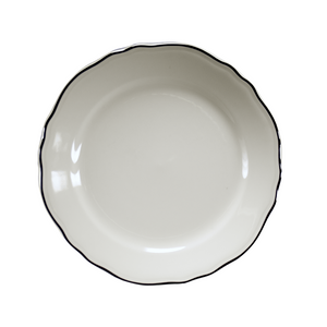 Styleline Dinner Plate - USA Dinnerware Direct, Plate proudly made in the USA. Deep discounts of up to 70% off all Fiesta, tabletop and kitchen ware.