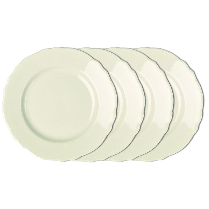 Set of 4 Terrace Dinner Plates Natural - USA Dinnerware Direct, Set of 4 proudly made in the USA by the Fiesta Tableware Company