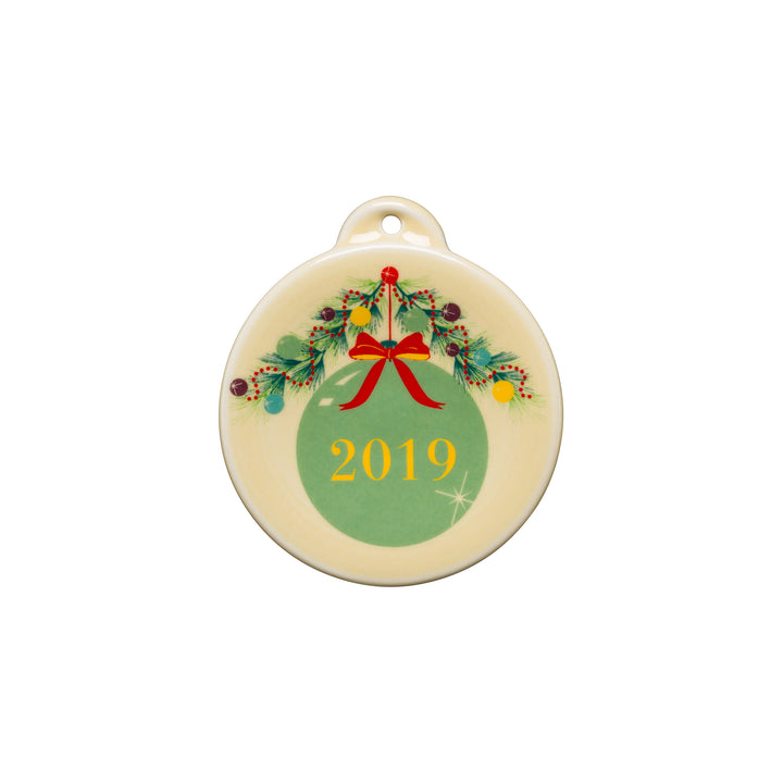 2019 Christmas Ornament - USA Dinnerware Direct, Holiday proudly made in the USA. Deep discounts of up to 70% off all Fiesta, tabletop and kitchen ware.