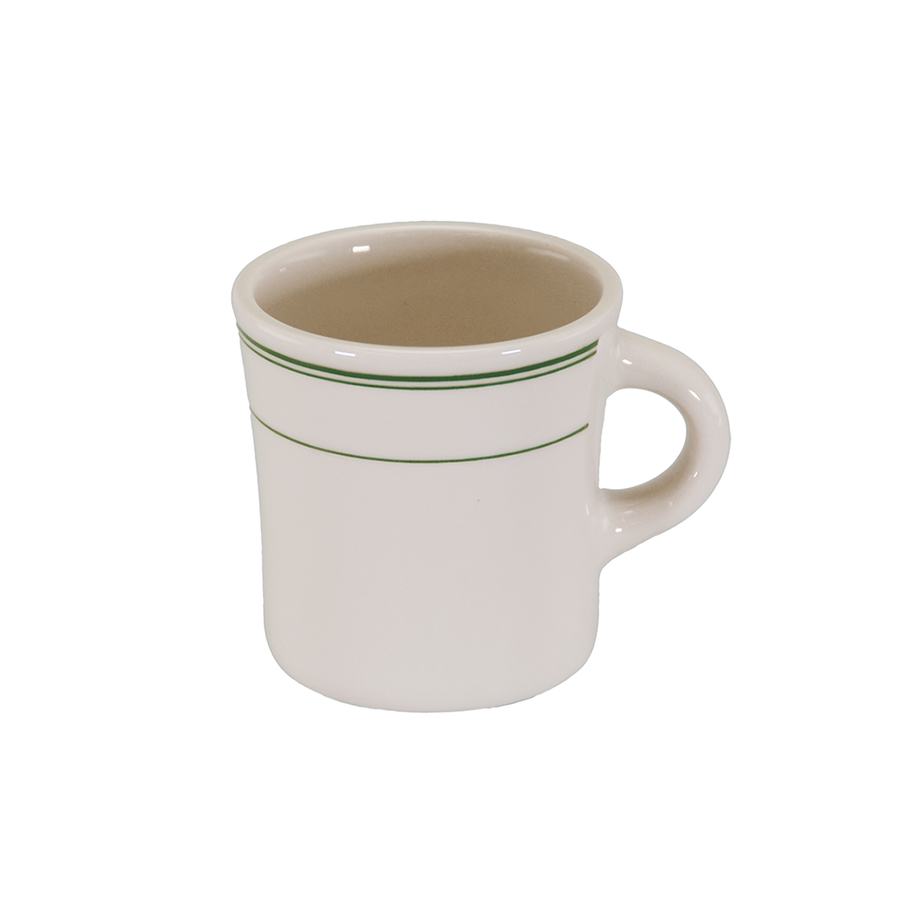 Green Band Jumbo Mug - USA Dinnerware Direct, Drinkware proudly made in the USA. Deep discounts of up to 70% off all Fiesta, tabletop and kitchen ware.