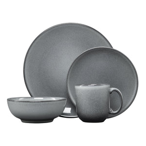 4 Pc Pewter Place Setting - USA Dinnerware Direct, Set proudly made in the USA. Deep discounts of up to 70% off all Fiesta, tabletop and kitchen ware.