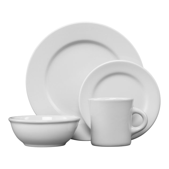 4 Pc Americana Place Setting - USA Dinnerware Direct, Place Setting proudly made in the USA. Deep discounts of up to 70% off all Fiesta, tabletop and kitchen ware.