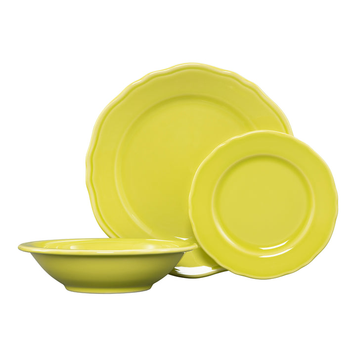 3 Pc Terrace Place Setting Citrus - USA Dinnerware Direct, Place Setting proudly made in the USA by the Fiesta Tableware Company