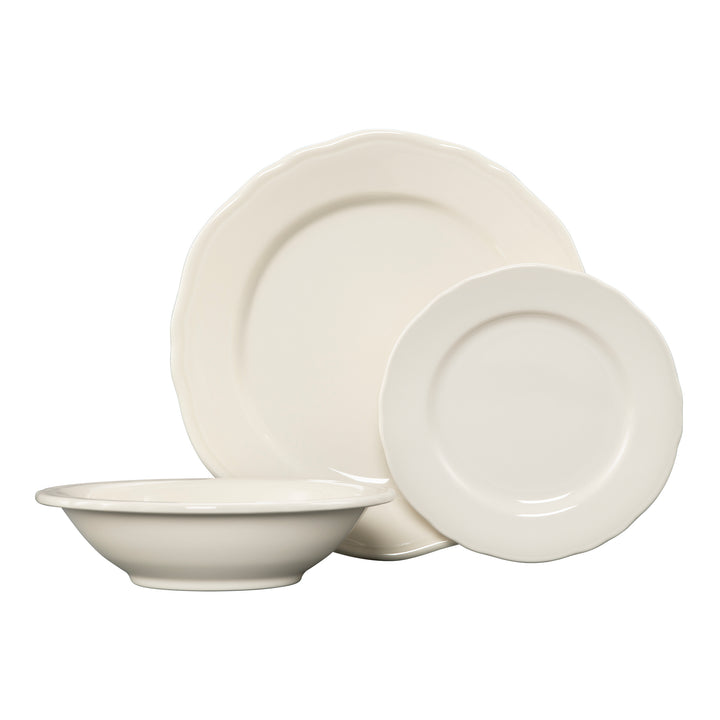 3 Pc Terrace Place Setting Natural - USA Dinnerware Direct, Place Setting proudly made in the USA by the Fiesta Tableware Company