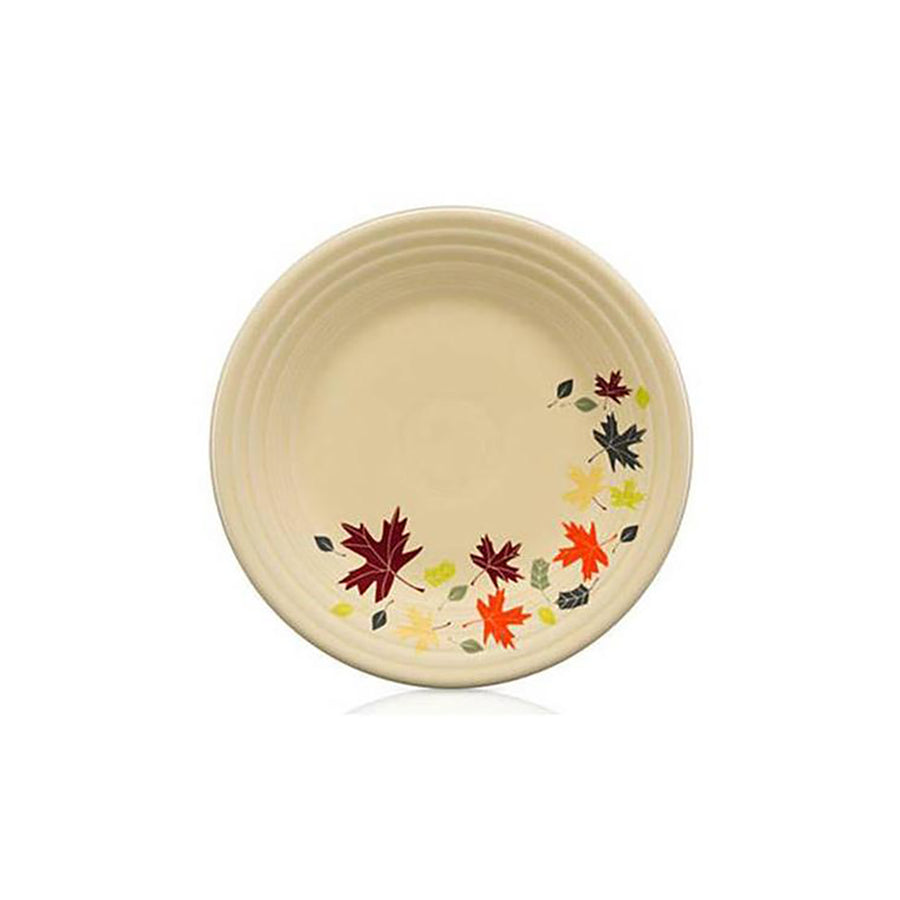 Autumn Leaves Luncheon Plate - USA Dinnerware Direct, Plate proudly made in the USA. Deep discounts of up to 70% off all Fiesta, tabletop and kitchen ware.