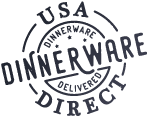 USA Dinnerware Direct Logo - Proudly shipping American factory direct dinnerware to customers all over the country!