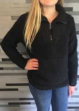Black Fleece Pull-over Sweater