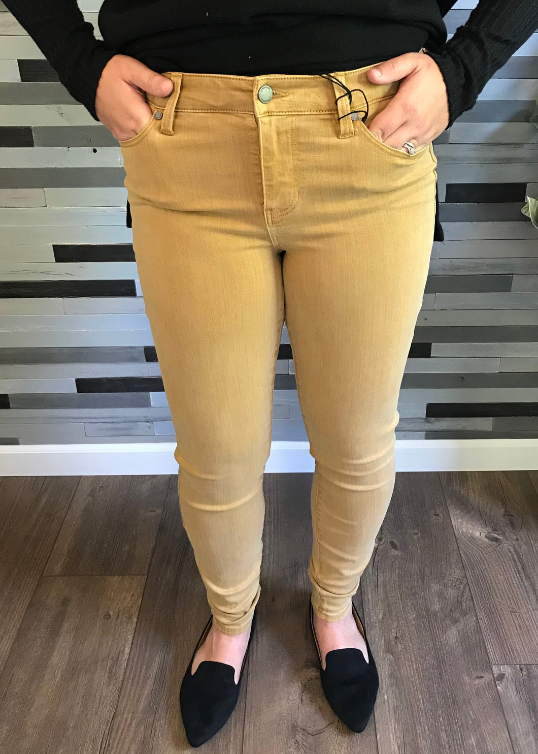 Liverpool Toasted Wheat Abby Skinny Jean
