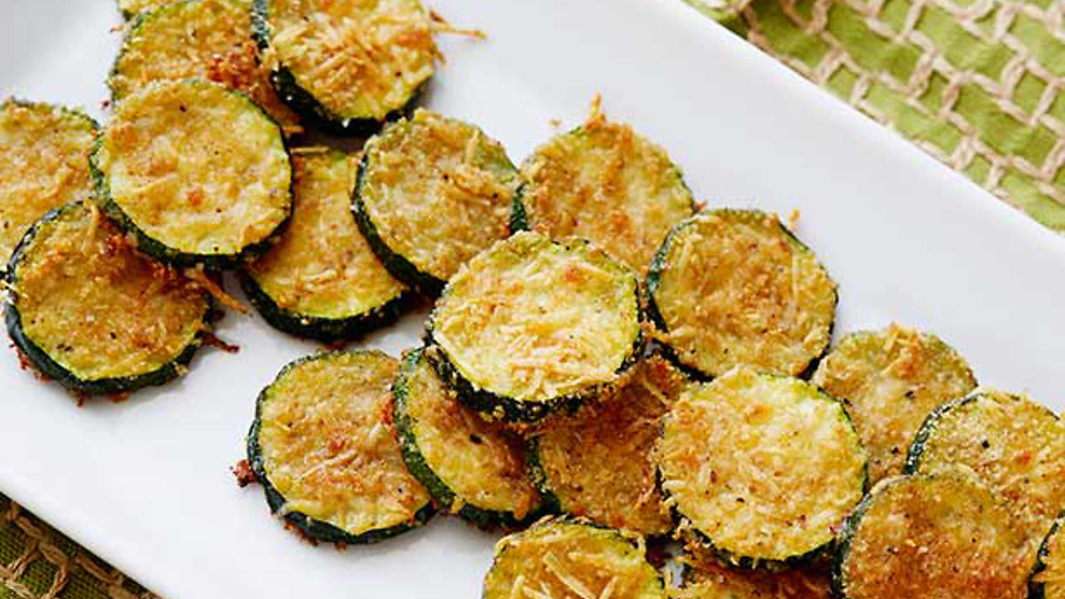 Baked Ginger Zucchini Slices