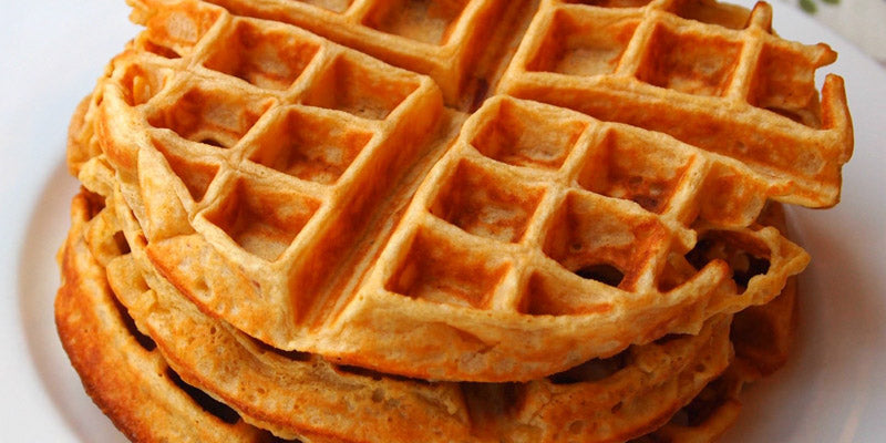 Spirulina Baobab Waffles Recipe with Organic Baobab Powder
