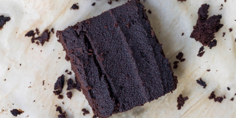 Cacao Powder Brownies with Organic Cacao Powder