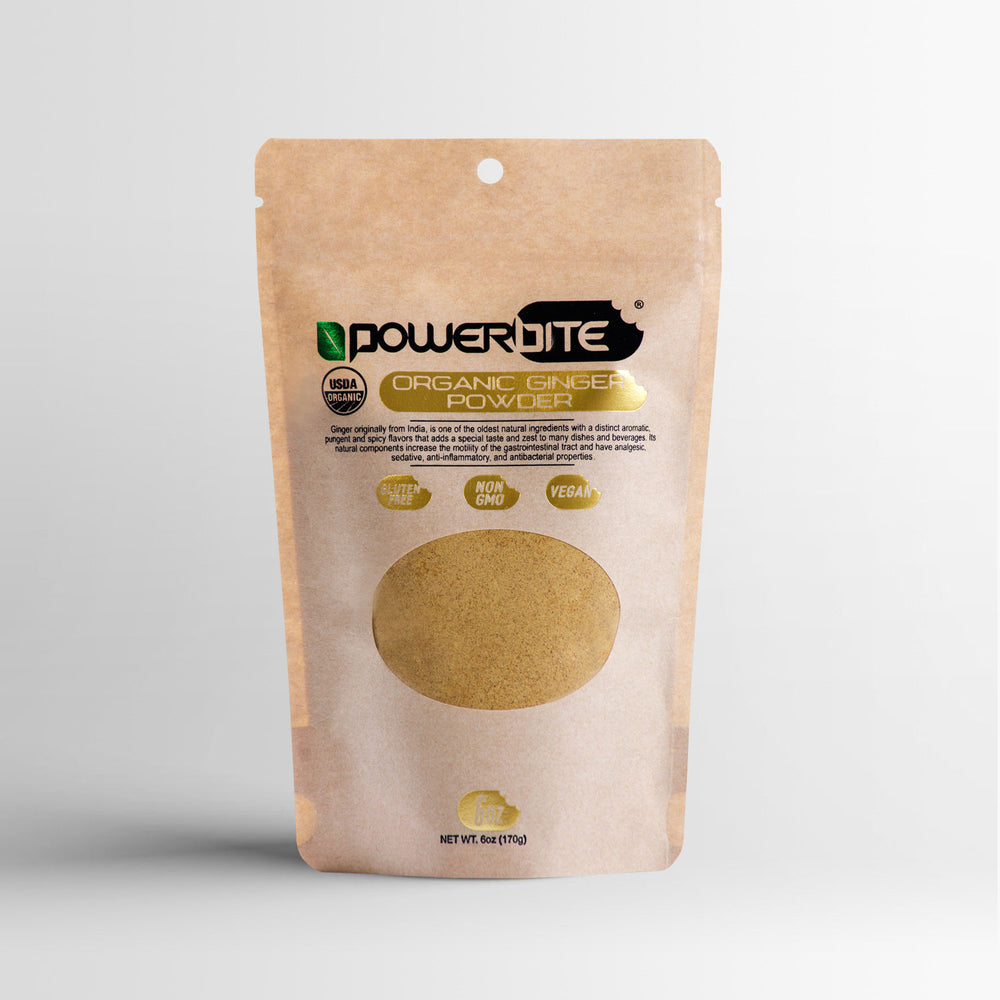 Powerbite Organic Ginger Powder - 6oz