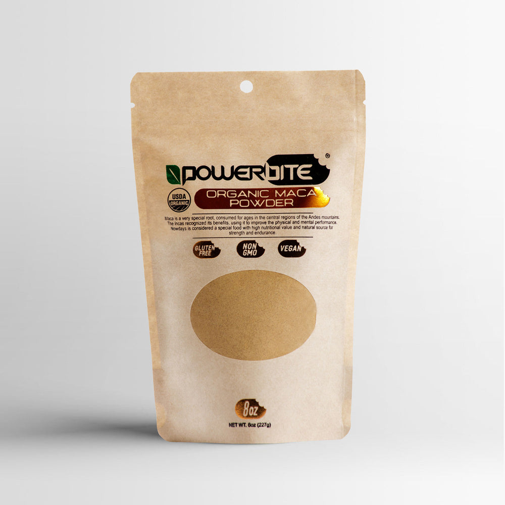 Powerbite Organic Maca Powder - 8oz.