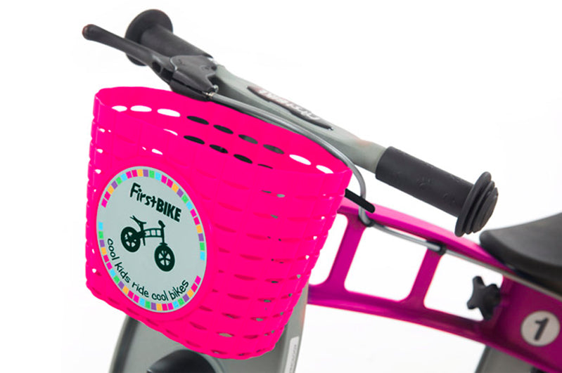 FirstBIKE Basket | Pink
