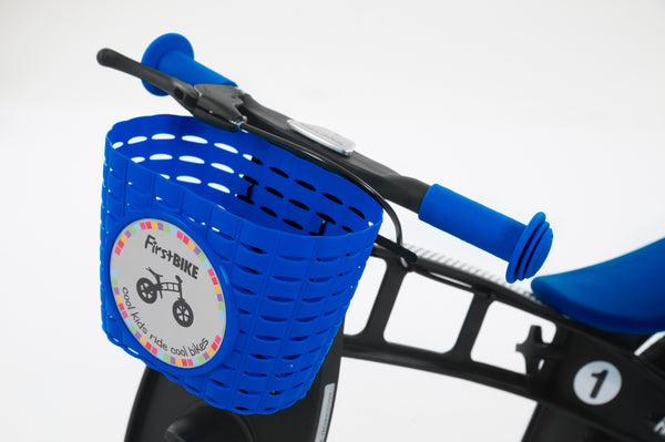 FirstBIKE Basket | Blue