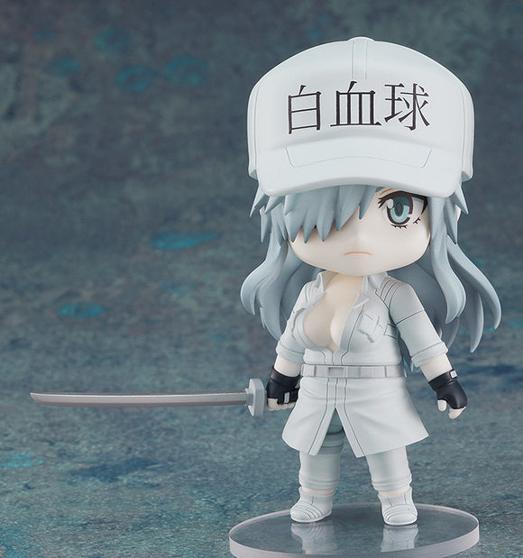PRE-ORDER Nendoroid 1579 Cells at Work! Code Black White Blood Cell (Neutrophil) (1196)