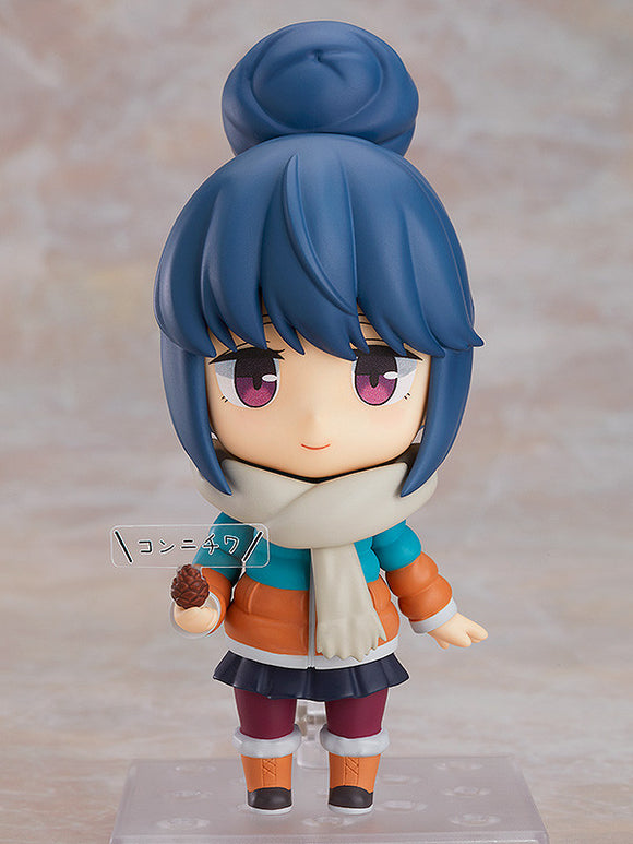 Nendoroid 0981-DX Laid Back Camp Rin Shima DX Ver.