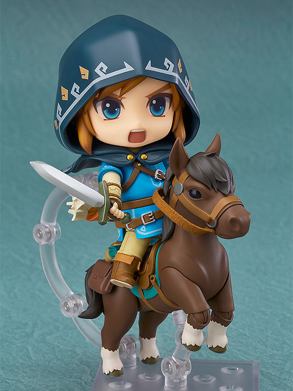 Nendoroid 0733-DX The Legend of Zelda: Breath of the Wild Link DX Edition