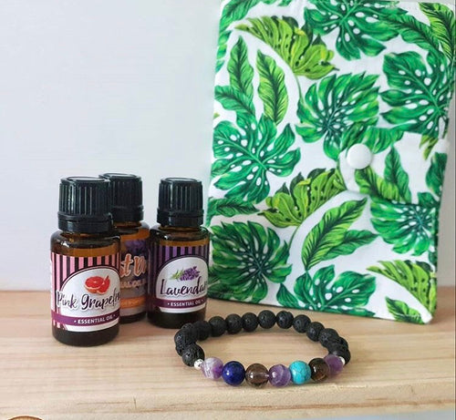 Bracelet and Oil Set