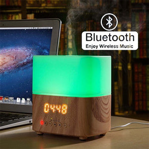 Melody Bluetooth Music Clock Diffuser