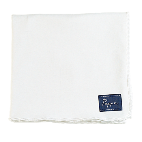 Petey Luxe Organic Swaddle - White.