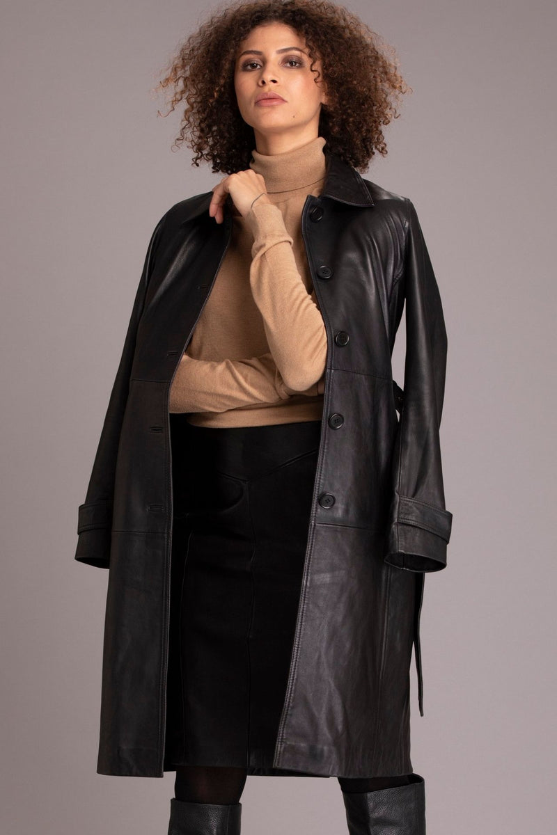 Joslin women leather coat