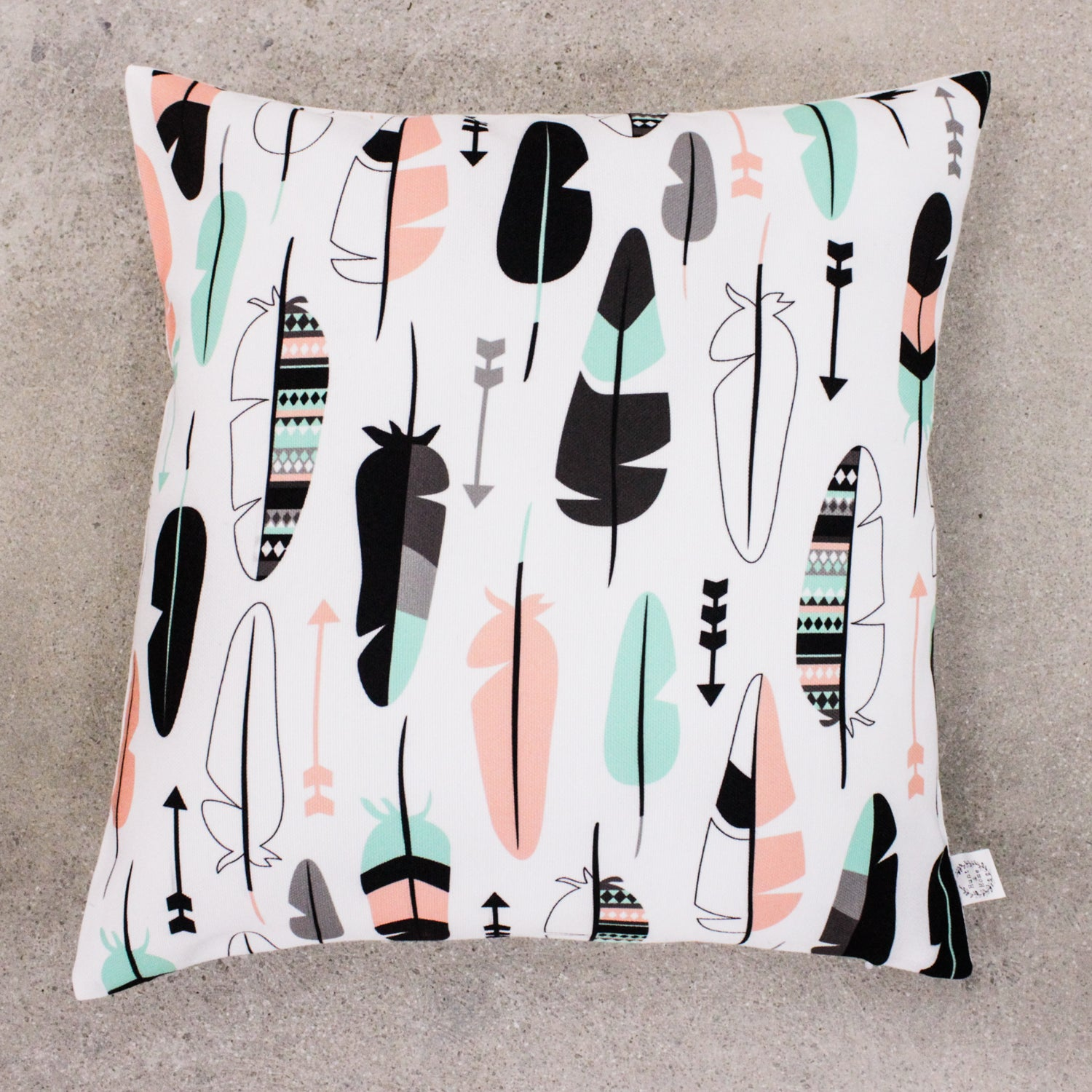 Feather Together Cushion Cover