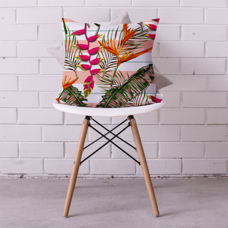 Paradise Bird Cushion Cover