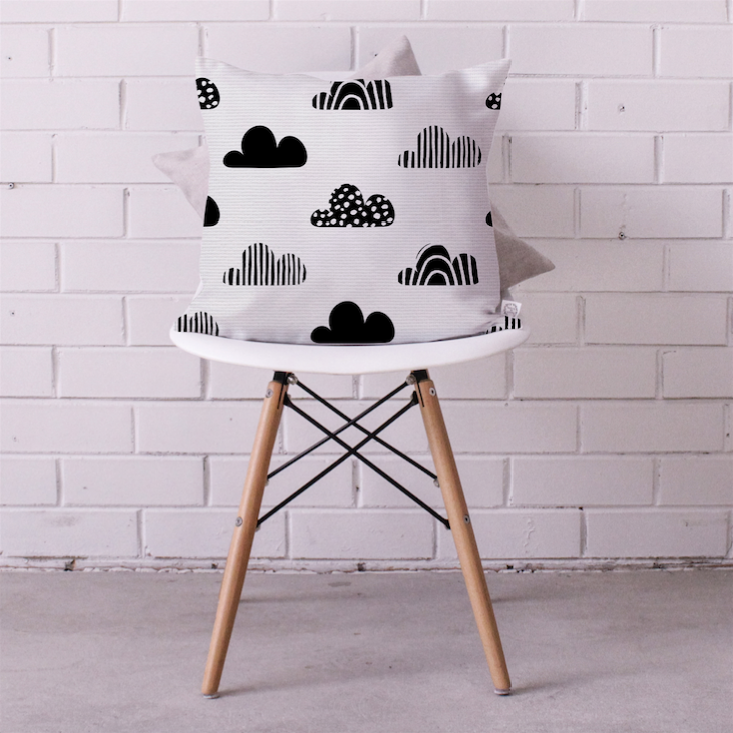 Buttermilk Sky Cushion Cover