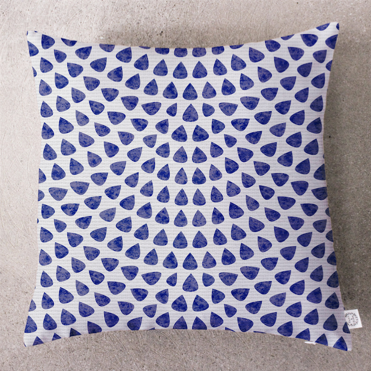 Fish out of Water Cushion Cover