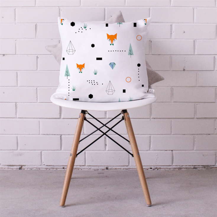 Kitchi Kids Cushion Cover