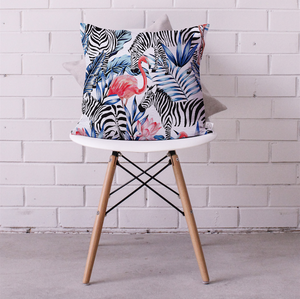 Libra the Zebra and Friends Cushion Cover