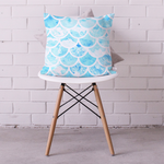 Ocean Fishscales Cushion Cover