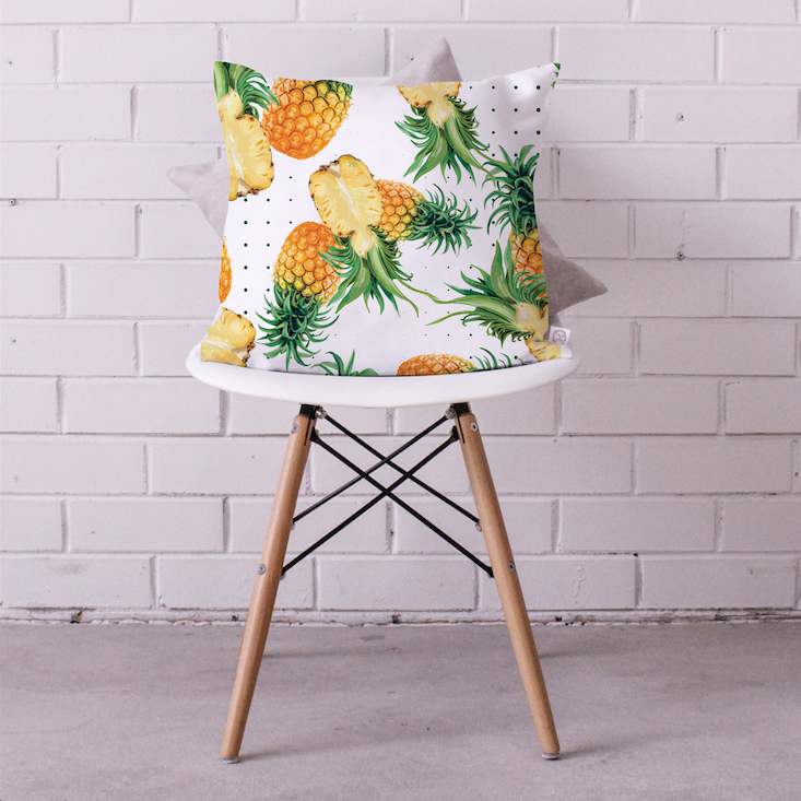 Pineapple Smoothie Cushion Cover