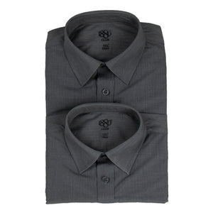 1880 Boy's Grey Shirt (2 Pack)