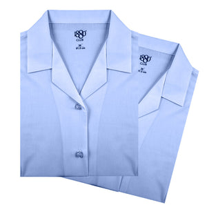 1880 Club Girls Revere School Uniform Blouse in Blue