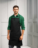 Model wearing the Polyester/Cotton Bib Apron