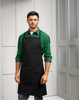 Polyester/Cotton Bib Apron (no Pocket)