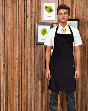 Model wearing the Fairtrade Apron