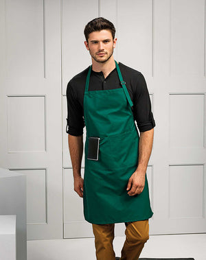 Model wearing the Deluxe Apron with with Pocket