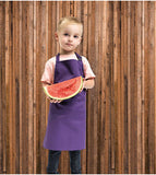 Child wearing the Children's Bib Apron