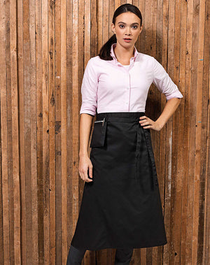 Hospitality & Service Industry Bistro Apron with Pocket