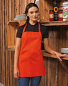 Model wearing the Colours Collection 2-in-1 Apron